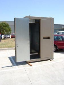 custom re-enforced steel Cabinets melbourne australia