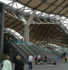 Melbourne Southern cross station balastrats metal fabrications